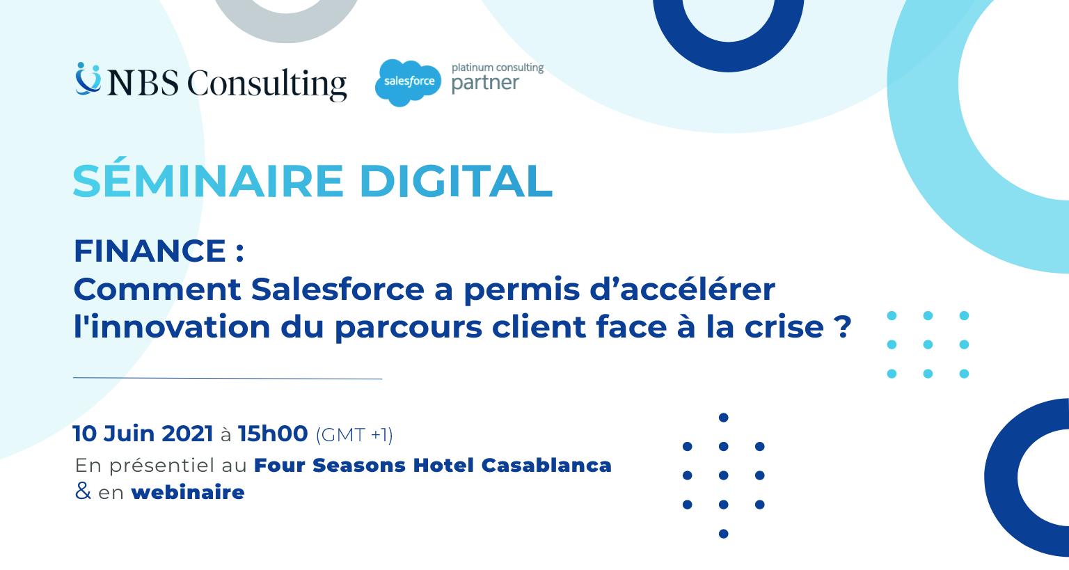 Séminaire Digital : Secteur Finance